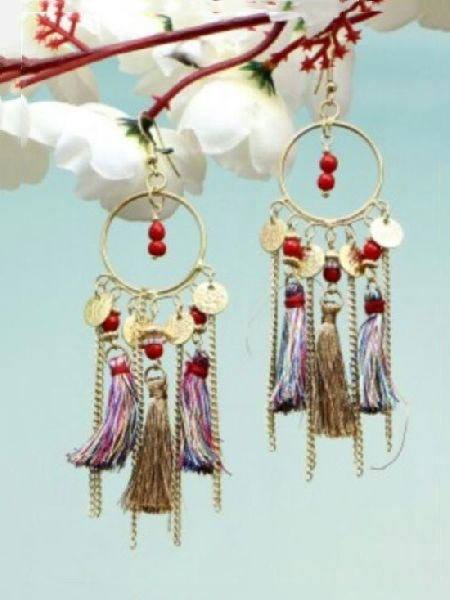 Beads Earrings 04