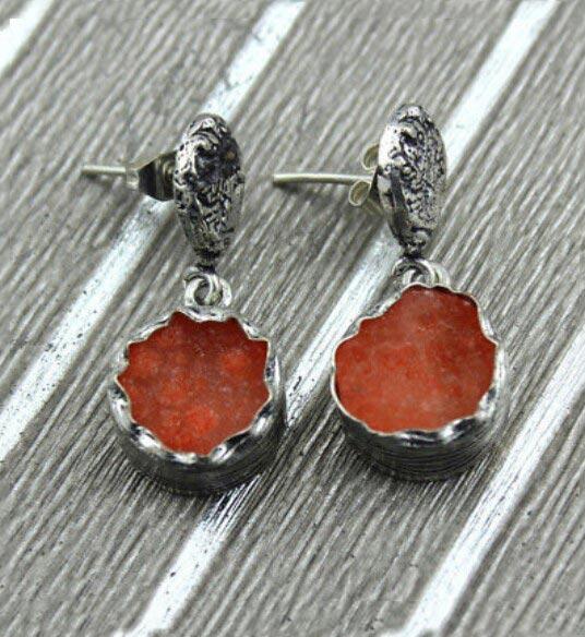 Druzy Earrings 04