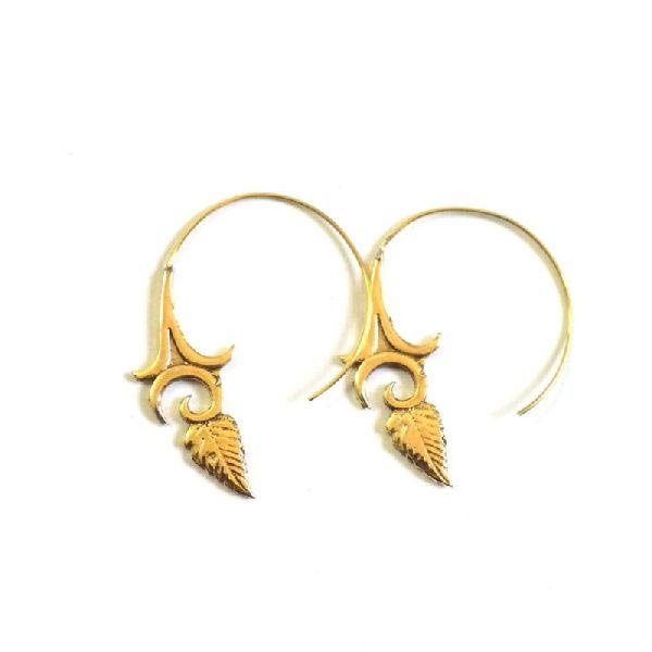 Brass Earrings 03