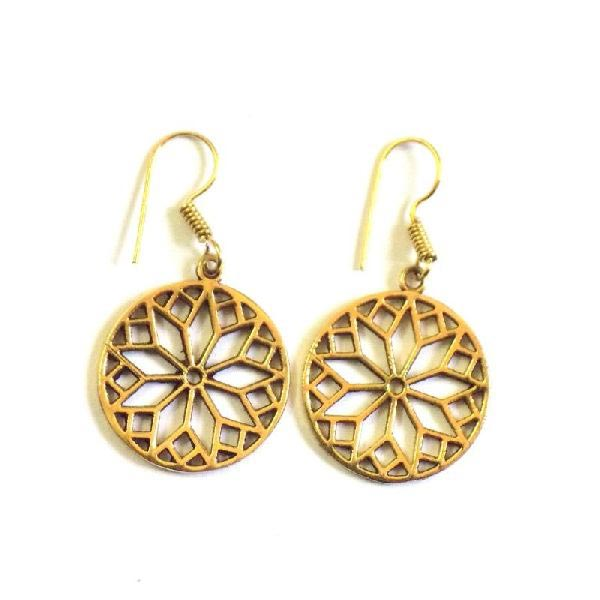 Brass Earrings 04