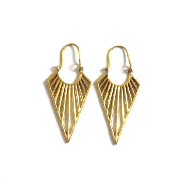 Brass Earrings 06