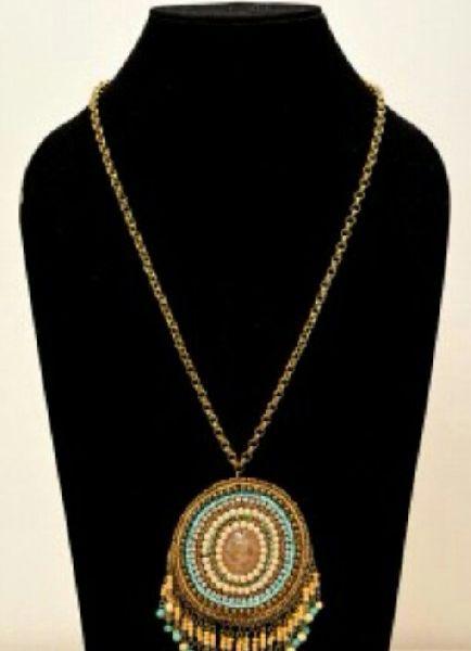 Handmade Paddy Pendant Necklace 02