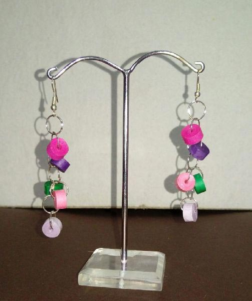 Handmade Quilling Earrings 02