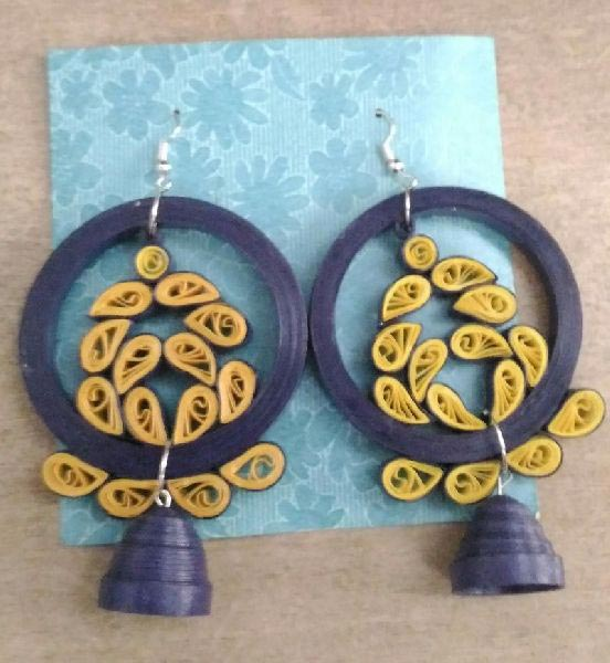 Handmade Quilling Earrings 06