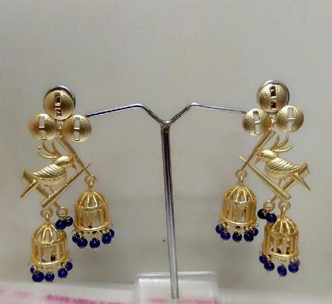Matte Finish Earrings 02