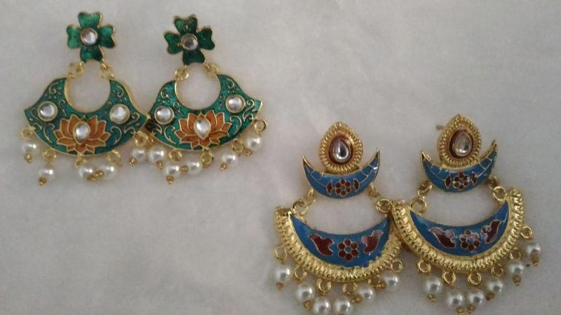 Meenakari Earrings 04