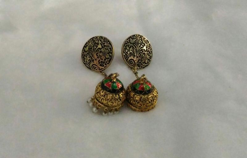 Meenakari Earrings 05