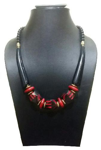 Stone Bead Necklace 01