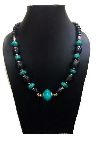 Stone Bead Necklace 02