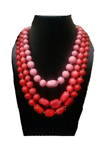 Stone Bead Necklace 03