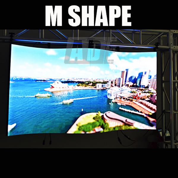 Flexible HD Large LED Wall