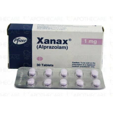 Alprazolam 1 Mg Tablets