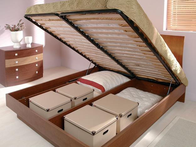 Bed Storage Designing
