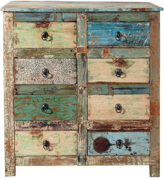 Wooden Chest Drawers