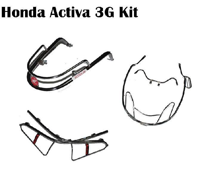 Honda Activa 3G Stainless Steel Guard Kit