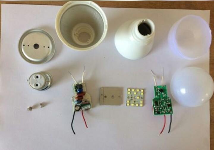 7W LED Bulb Raw Material