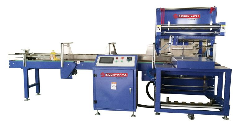 Automatic L - Shape Shrink Wrapping Machine