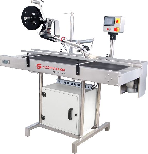 Automatic Top & Bottom Labeling Machine