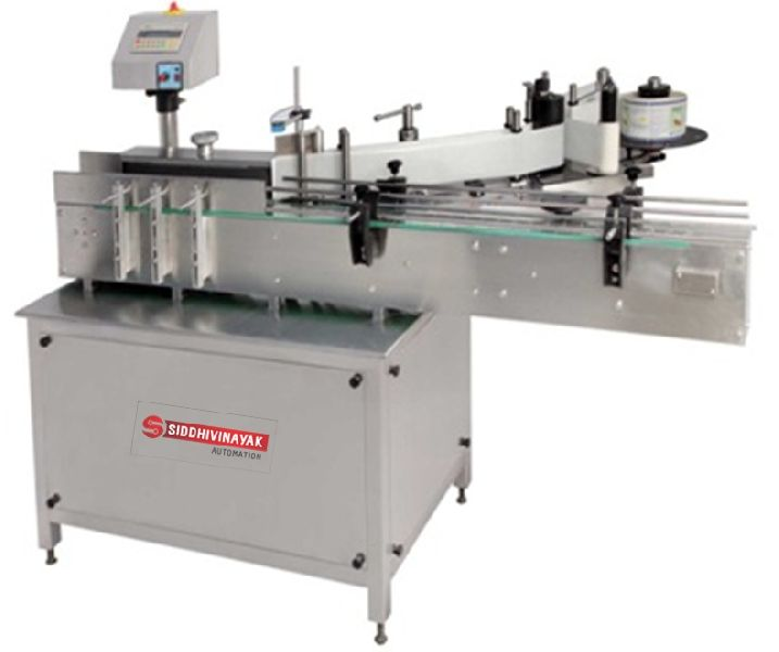 Round Bottle Labelling Machine
