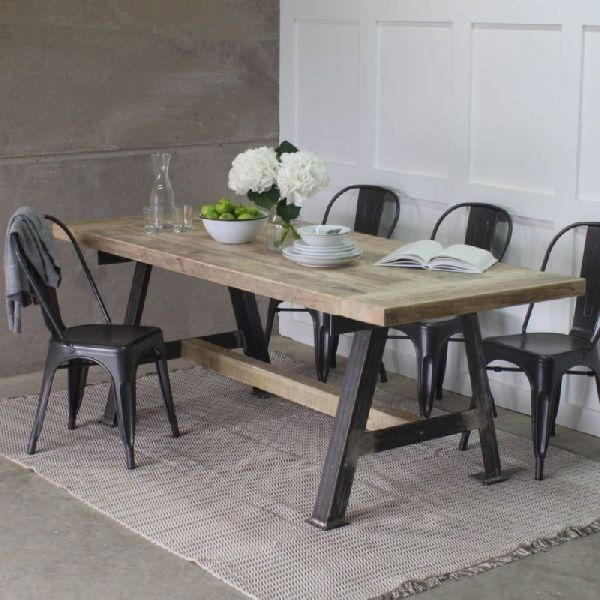 Recycled Dining Table Set 01