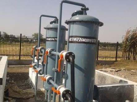 Mild Steel Water Filter Plant