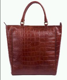 Leather Ladies Tote Bag 01