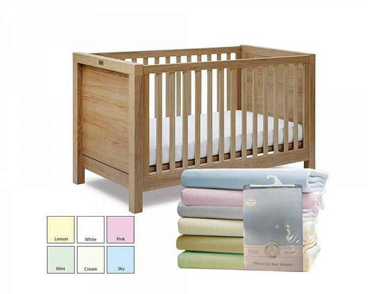 2 Baby Cot Bed Sheets