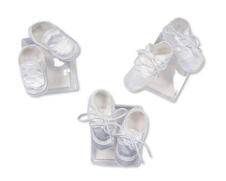 Baby Boys Satin Shoes