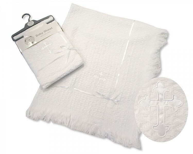 Baby Christening Lace Shawls