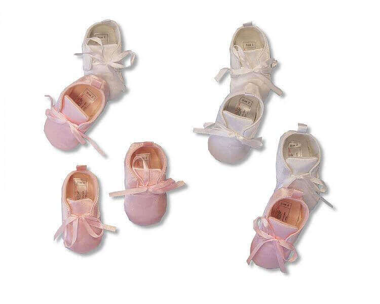 Baby Girls Christening Shoes