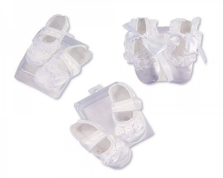 Baby Girls Satin Shoes