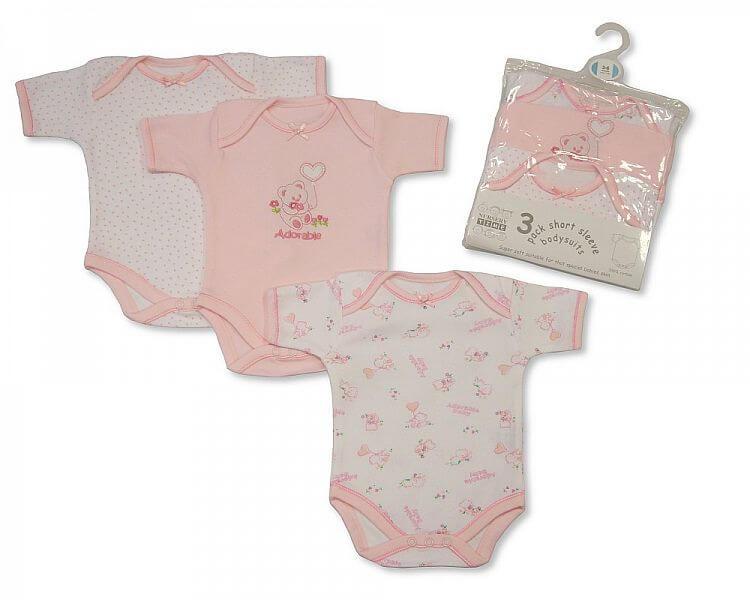 Baby Girl Half Sleeve Body Vest