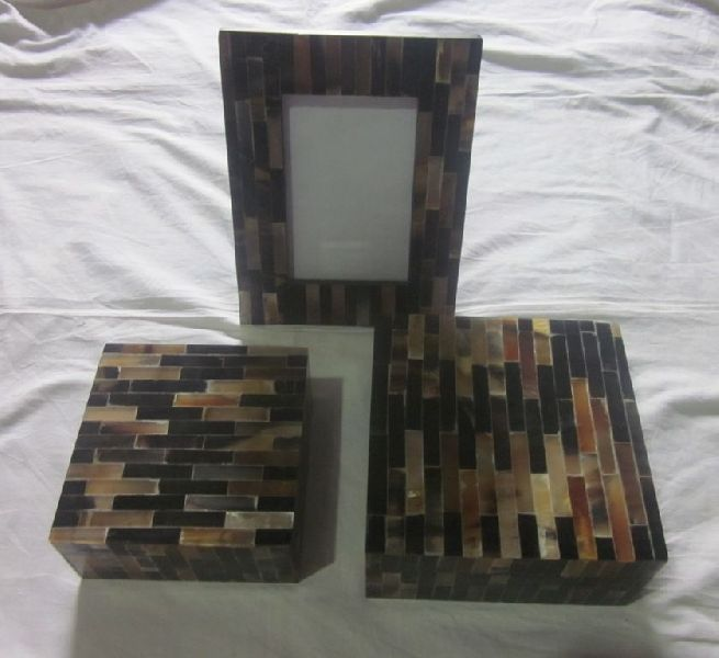 Bone Photo Frame And Box Set