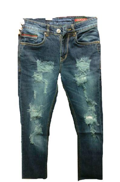 Gucci Rough Jeans