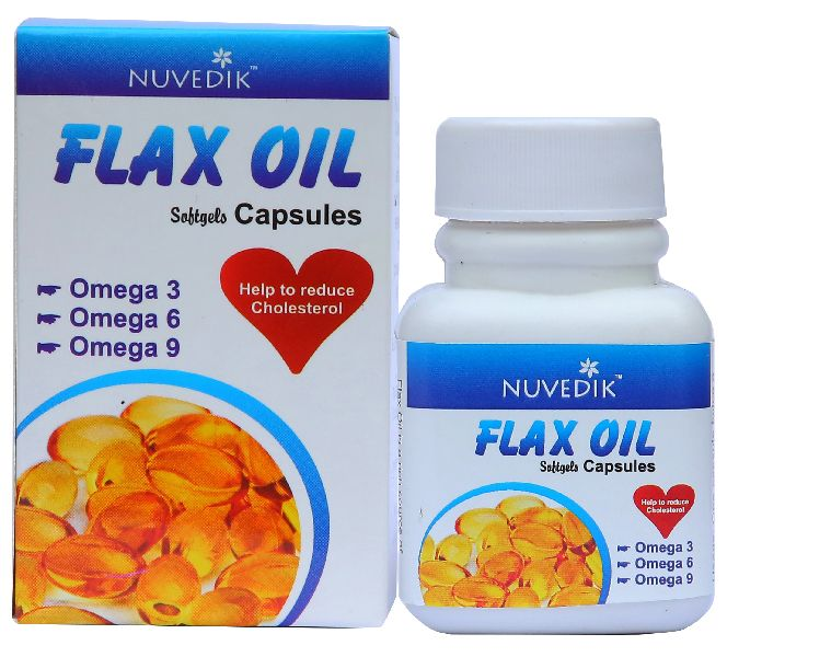 Flaxseed Oil Omega 3 Capsules