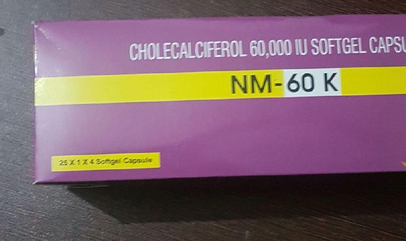 NM- 60K Softgel Capsules