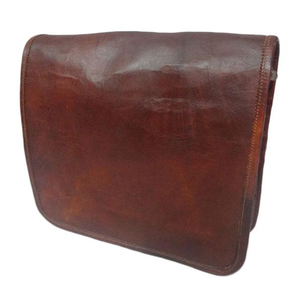 LB004MB Leather Messenger Bag