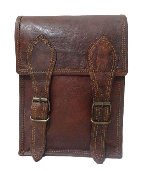 LB005MB Mens Leather Satchel Bag