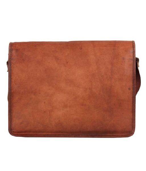 LB009MB Leather Messenger Bag