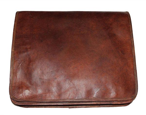 LB010MB Leather Messenger Bag