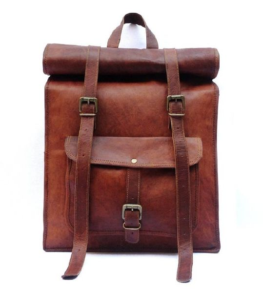 LB032MB Leather Rucksack Bag