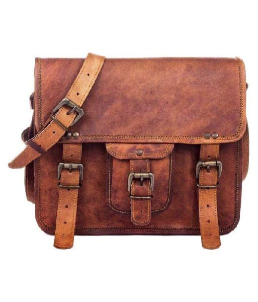 LB040MB Leather Laptop Bag