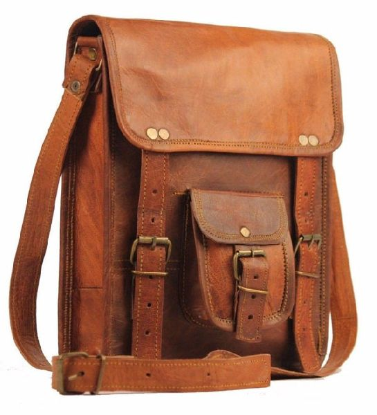 LB042MB Leather Laptop Bag