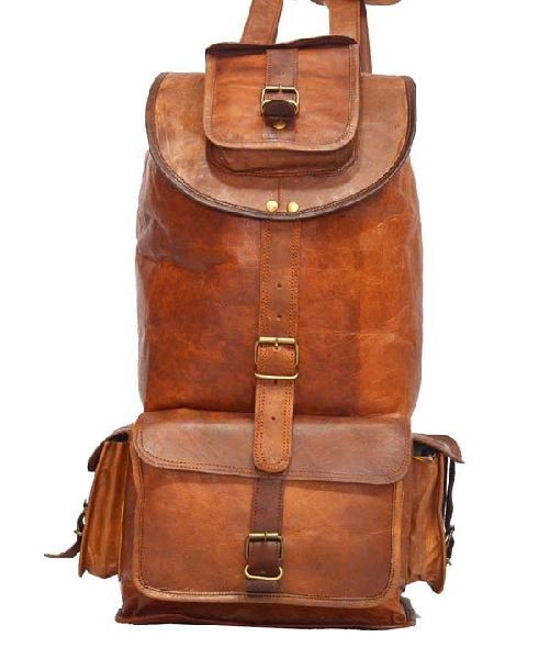 LB071MB Leather Rucksack Bag