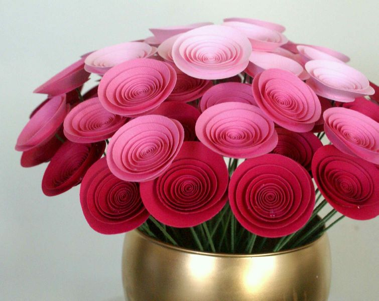 Artificial Paper Flowers Manufacturer Supplier In Delhi India