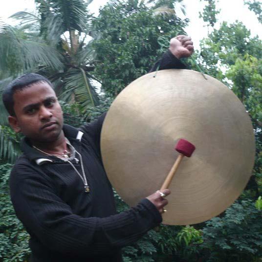 Brass Gong 03
