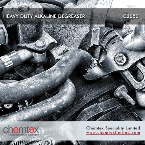 Heavy duty alkaline degreaser