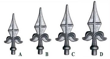 Forged Spearheads