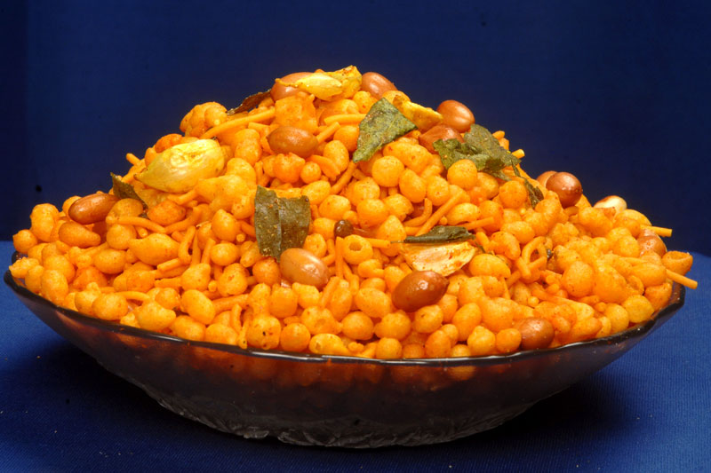 Garlic Boondi Namkeen