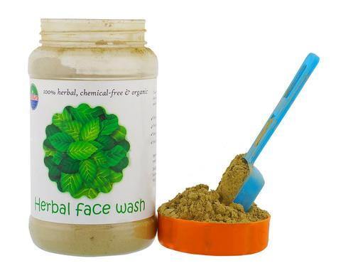Herbal Face Wash Powder